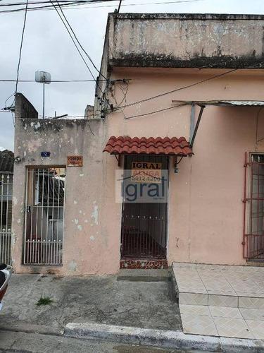 Casa Com 2 Dormitórios Para Alugar, 45 M² Por R$ 1.100,00/mês - Vila Babilônia - São Paulo/sp - Ca0894