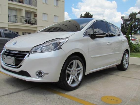 Peugeot 208 2014 1.6 16v Griffe Automatico Teto De Vidro