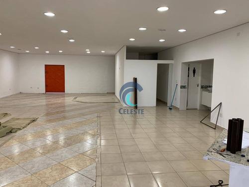 Salão Para Alugar, 176 M² - Monte Castelo - São José Dos Campos/sp - Sl0255