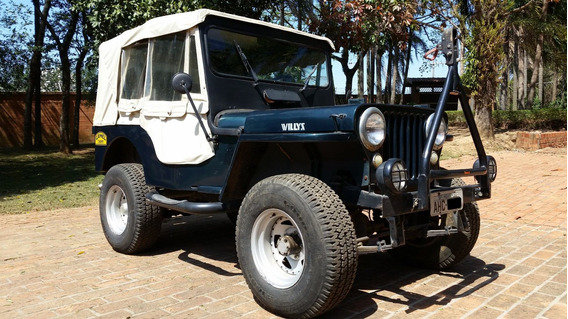 Jeep Willys 1954 Motor Opala