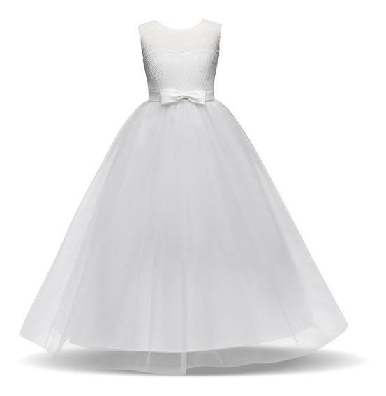 Vestido Infantil Festa Princesa Formatura Daminha Casamento