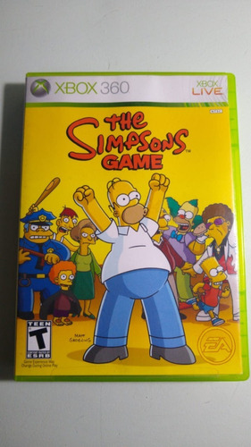 The Simpsons Game Xbox 360 Lenny Star Games