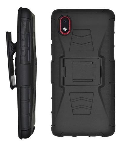 Funda Cover Uso Rudo 3 En 1 Samsung Galaxy A10 A20 A30 A2 A3