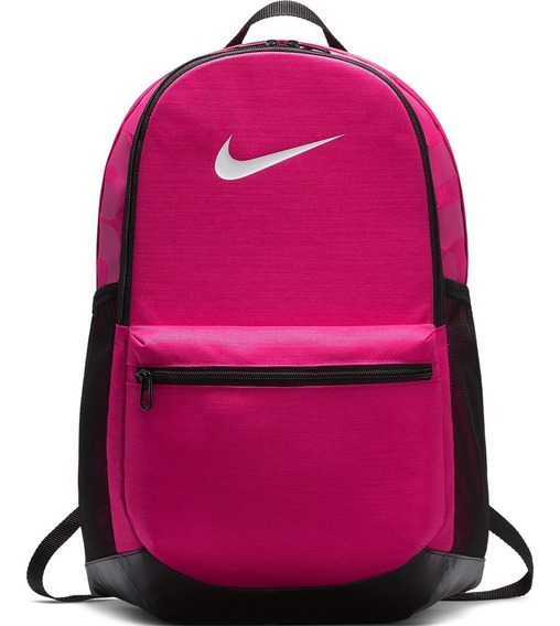 Mochila Nike Brasilia Rosa Pink Porta Notebook