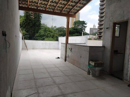 Cobertura Com 3 Dormitórios À Venda, 128 M² Por R$ 550.000,00 - Vila São Pedro - Santo André/sp - Co0332