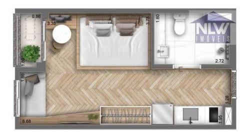 Imagem 1 de 15 de Studio Com 1 Dormitório À Venda, 26 M² Por R$ 345.580,36 - Indianópolis - São Paulo/sp - St0224