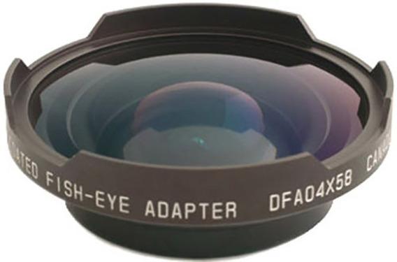 Lente Olho De Peixe Fisheye Cavision 0.35x 58mm Canon Nikon