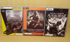 Medal Of Honor - Allied Assault + Pacific Assault + Airborne