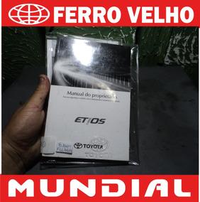 Manual Completo Toyota Etios - Excelente Estado