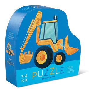 Puzzle Rompecabezas Digger Excavador - 10pz - Woopy
