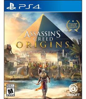 Assassins Creed Origins Ps4 Nuevo