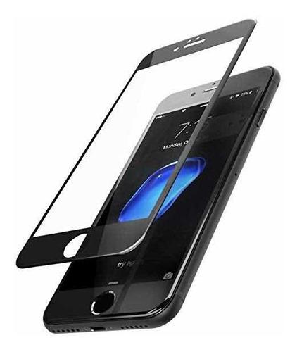 Imagen 1 de 1 de Pack 2 Unidades Lámina Vidrio Full iPhone 8 Plus Envío Flex