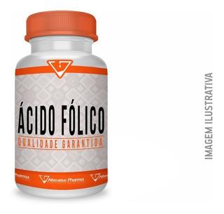 Ácido Fólico 400mcg 60 Cápsulas Manipulado
