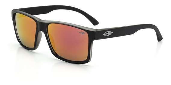Oculos Sol Mormaii Lagos M0074a8711 Preto Fosco Vermelha Esp