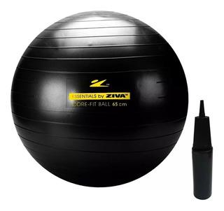 Bola Suíça Pilates 45 Cm 300 Kg Ziva Premium Antiestouro