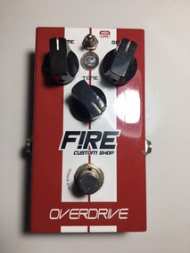 Pedal Fire Overdrive Para Guitarra