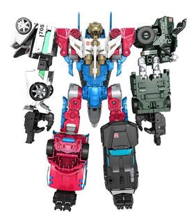 Set Transformers Lynxmaster Sky Reign Combiner Wars Hasbro