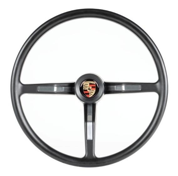 Volante Classico Jm Preto - Fusca 77 Diante - Emb Porsche