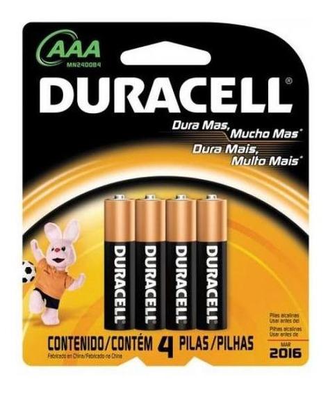 Pilha Duracell Aaa Palito 1,5v Mn2400 Cartela - Cxf / 48 - Nota Fiscal - Envio Express*