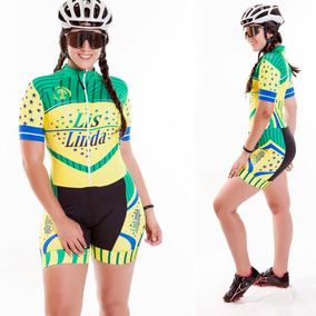 Roupa Feminina Para Ciclismo Macaquinho