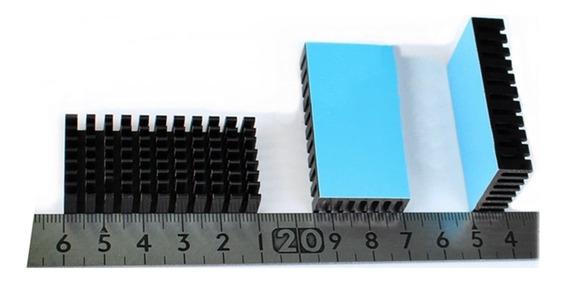 Kit 5 Dissipadores De Calor Alumínio C/fita Dupla Face Refrigerante