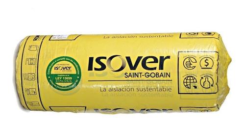 Lana De Vidrio Isover C/ Aluminio X21.6m2 Rolac Plata