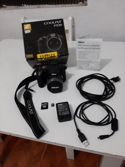 Câmera Superzoom Nikon Coolpix P530 Usada
