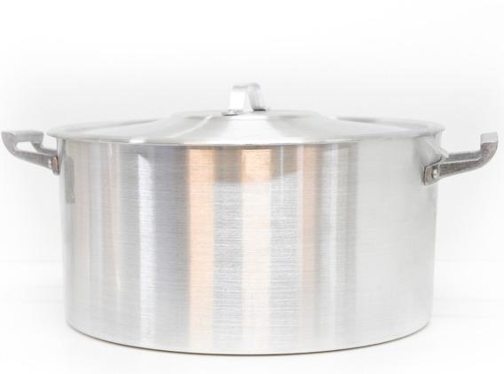 Cacerola Gastronomica Nro 50 Aliminio Tresso 52x26cm 50 Lt