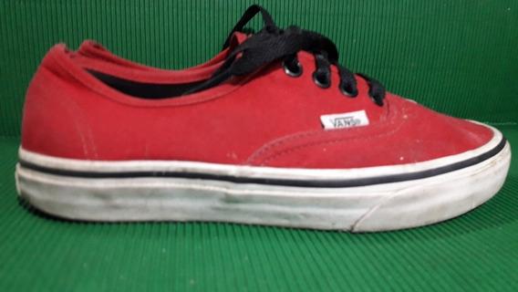 Zapatillas Vans Autentic N 36 Color Roja
