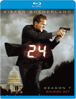Blu-ray 24 Horas 7ª Sétima Temporada Dub/leg Luva