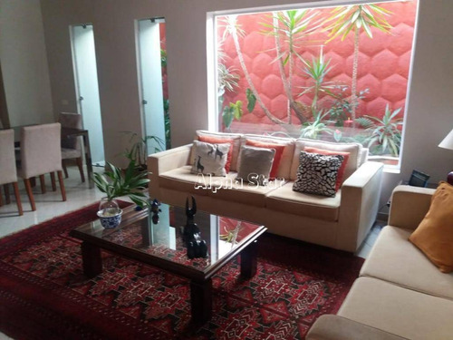 Imagem 1 de 30 de Casa Com 4 Dormitórios À Venda, 400 M² Por R$ 1.600.000,00 - Alphaville 04 - Santana De Parnaíba/sp - Ca1027