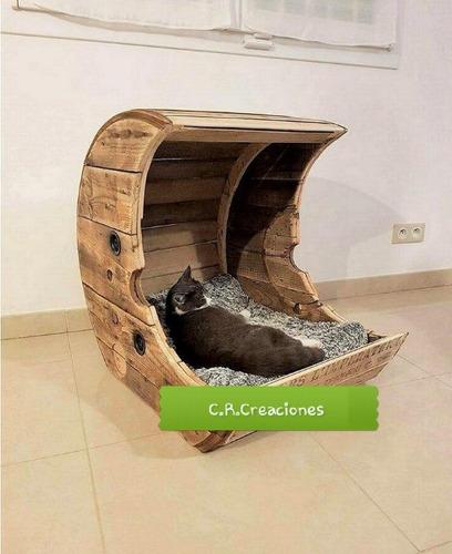 Cama De Gato Cama De Gato Con Forma De Luna Gatera