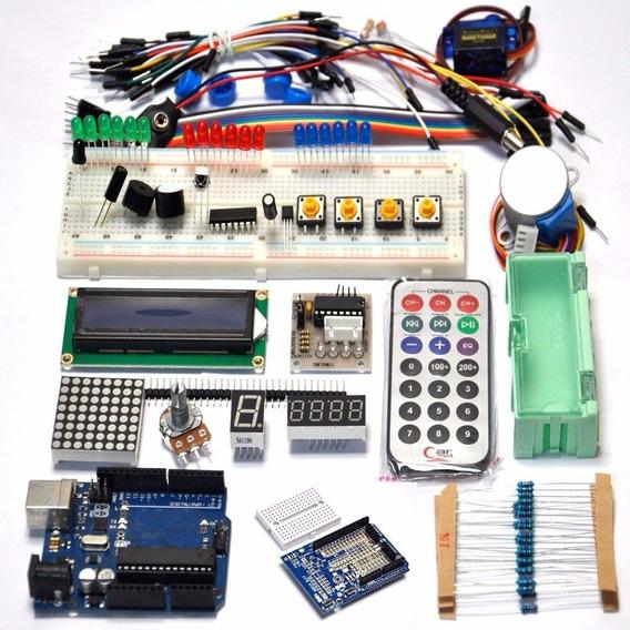 Kit Aprendizaje Starter Arduino Uno 4201 Emakers