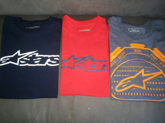 Camisa Playera S Ch Alpinestars