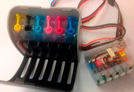 Kit 6 Cartuchos Con Chip Autoreseteable Para Epson T50 Tx700
