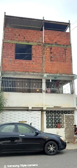 Casa De 3 Niveles Puerto La Cruz Obra Avanzada Centrico