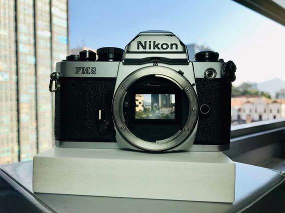 Câmera Nikon Fm2 - Corpo Analógica