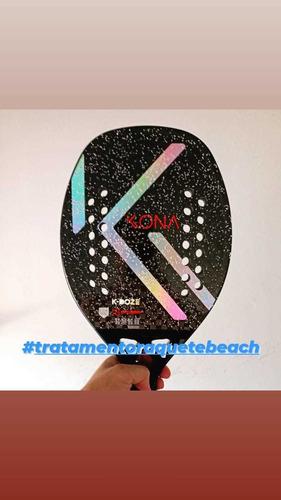 Imagem 1 de 3 de Tratamento De Raquete De Beach Tennis