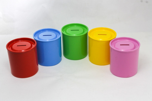 Alcancía Plástica Para Personalizar Pack X10  Fabricantes!!!