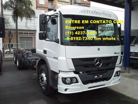 Mercedes Bens Atego 2426 Bitruck Zero Carroceria