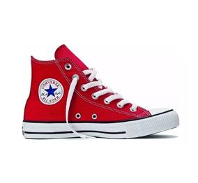 Converse All Star- Chuck Taylor Cano - Vermelho Botinha-