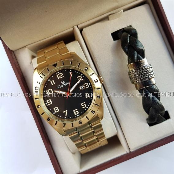 Relógio Champion Ca31435x Calendário