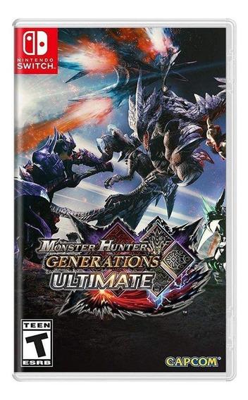 Monster Hunter Generations Ultimate Switch Mídia Física