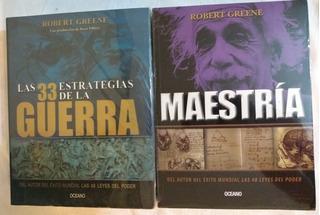 Paquete Robert Greene 33 Estrategias, Maestría, 48 Leyes