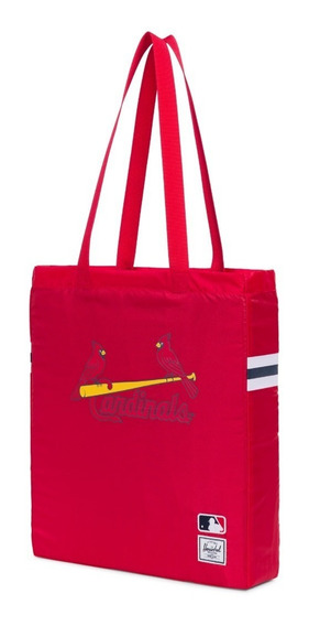 Bolso Herschel Plegable Tote Mlb St Louis Cardinals