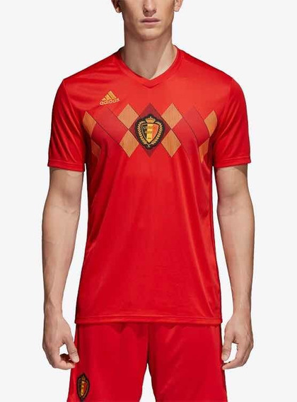 Camiseta adidas Oficial Seleccion Belgica 2018