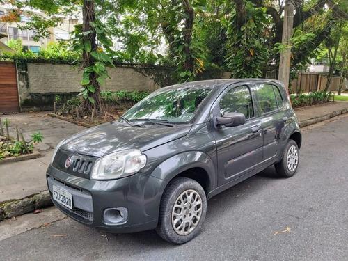 Fiat Uno Vivace 1.0 Flex 8v 2014 4 Portas Cinza