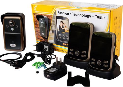 Imagen 1 de 9 de Portero Electrónico 2 Monitores Inhalambricos Y Un Receptor