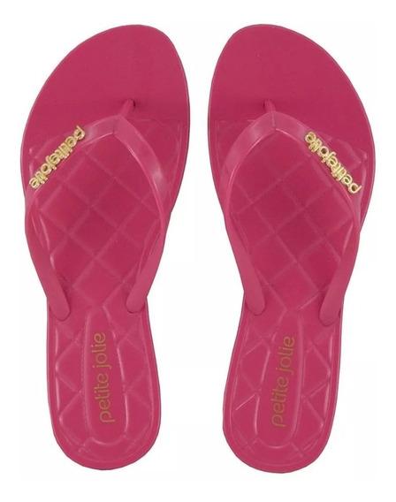 Chinelo Petite Jolie Express Feminino Pink Pj1535 Promocao