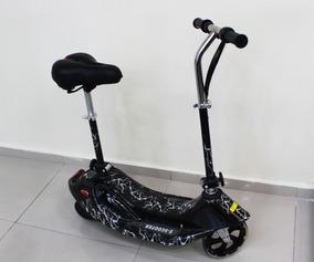 Patinete Elétrico Motorizado Scooter Bateria Preto 24v